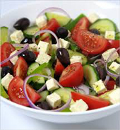 Spiro's Pasadena Greek Salad